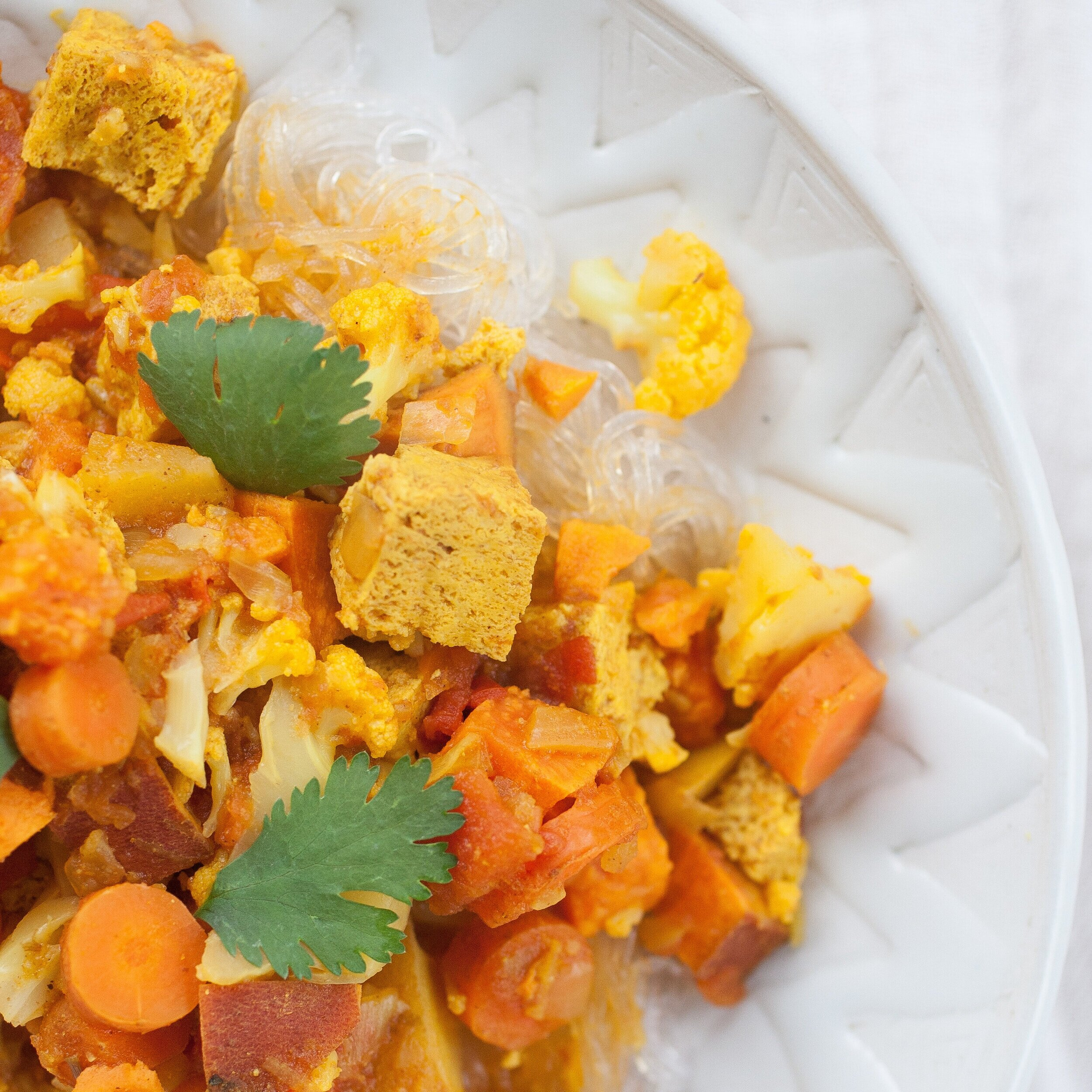 Healthy Tofu Curry
