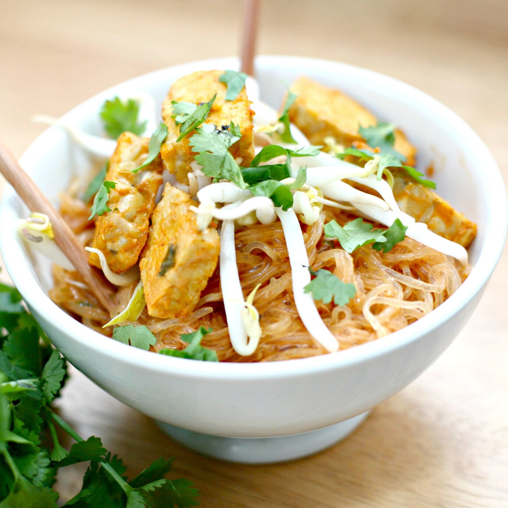 Thai Coconut Curry with Kelp Noodles