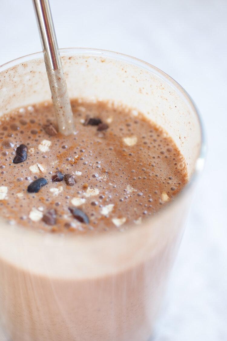 Chocolate Banana Muffin Smoothie