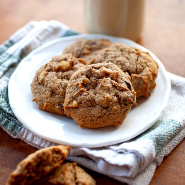 Maple Banana Cookies