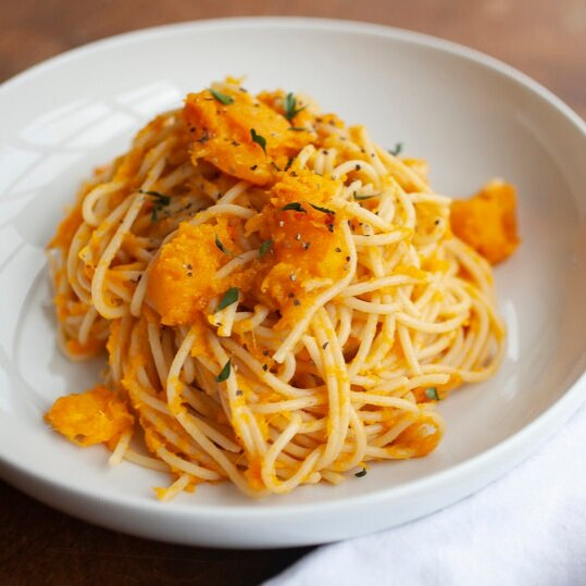 Smoked Gouda and Butternut Pasta