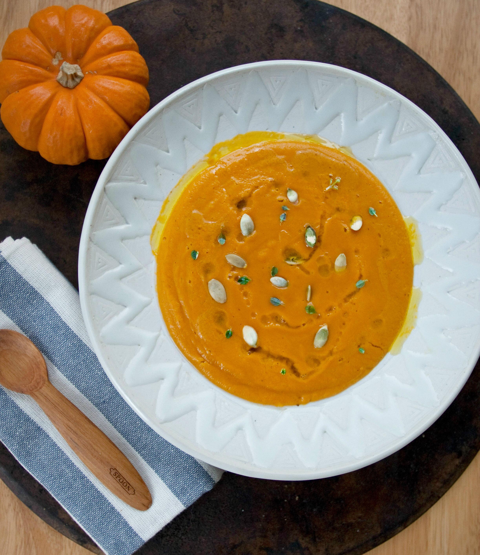Smoky Paprika Pumpkin Soup