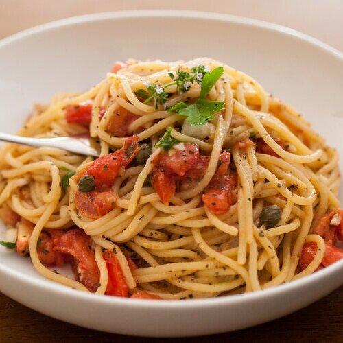 Italian Summer Tomato Pasta