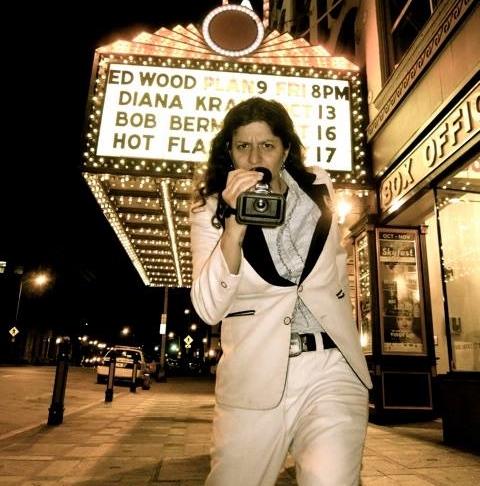 Lola Rocknrolla's film  Dragzilla  opens for  Ed Wood  in Poughkeepsie, NY (2013)
