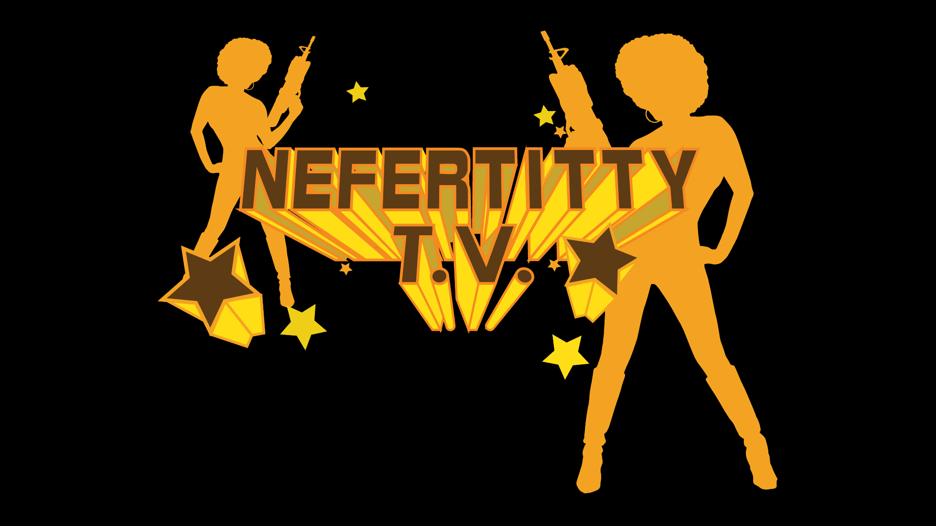 """Nefertitty TV is a TV series based on the film """"Nefertitty"""". Starring Maine Anders."""