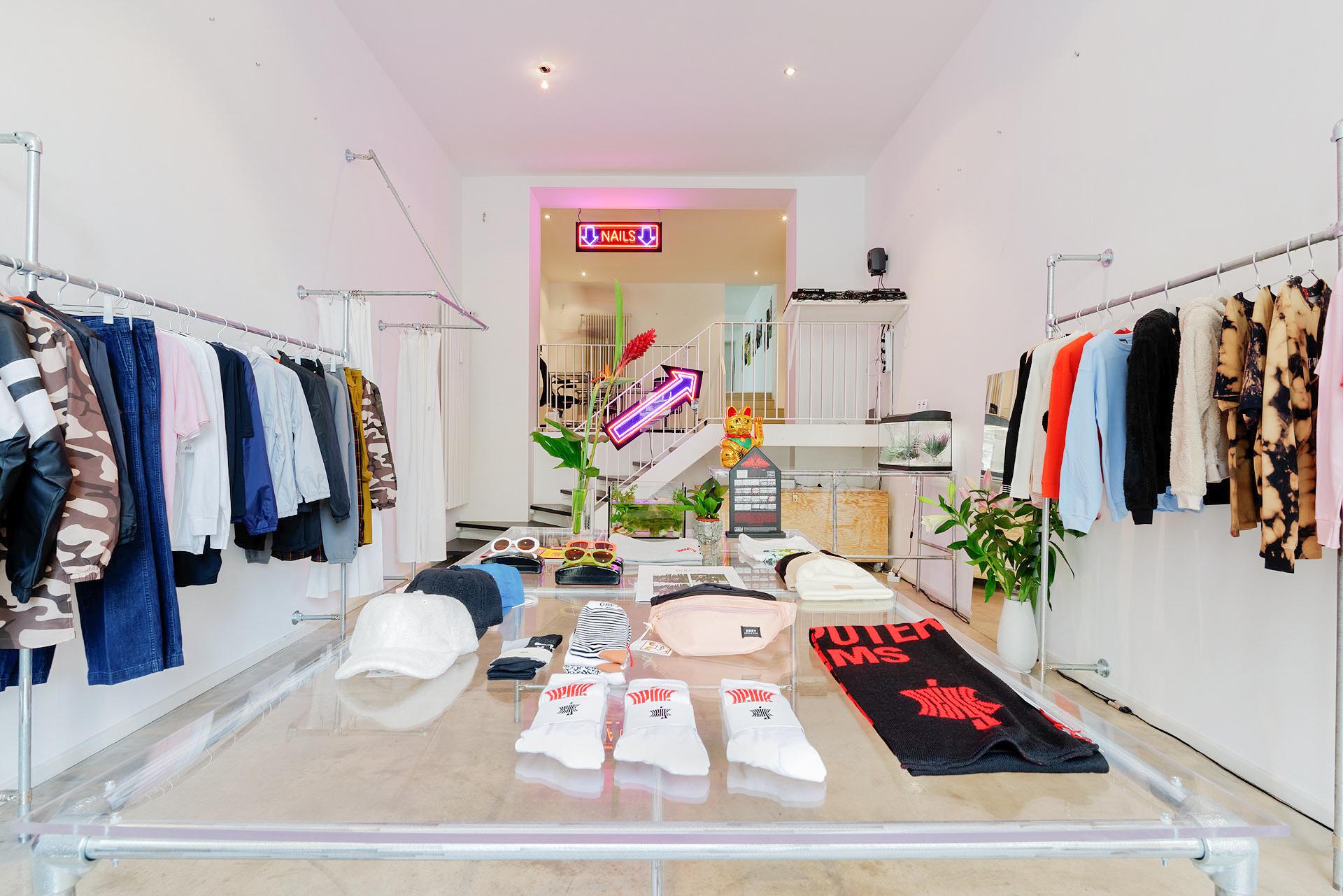 ISLA's shop interior, located at Inselstraße 13, 10179 Berlin
