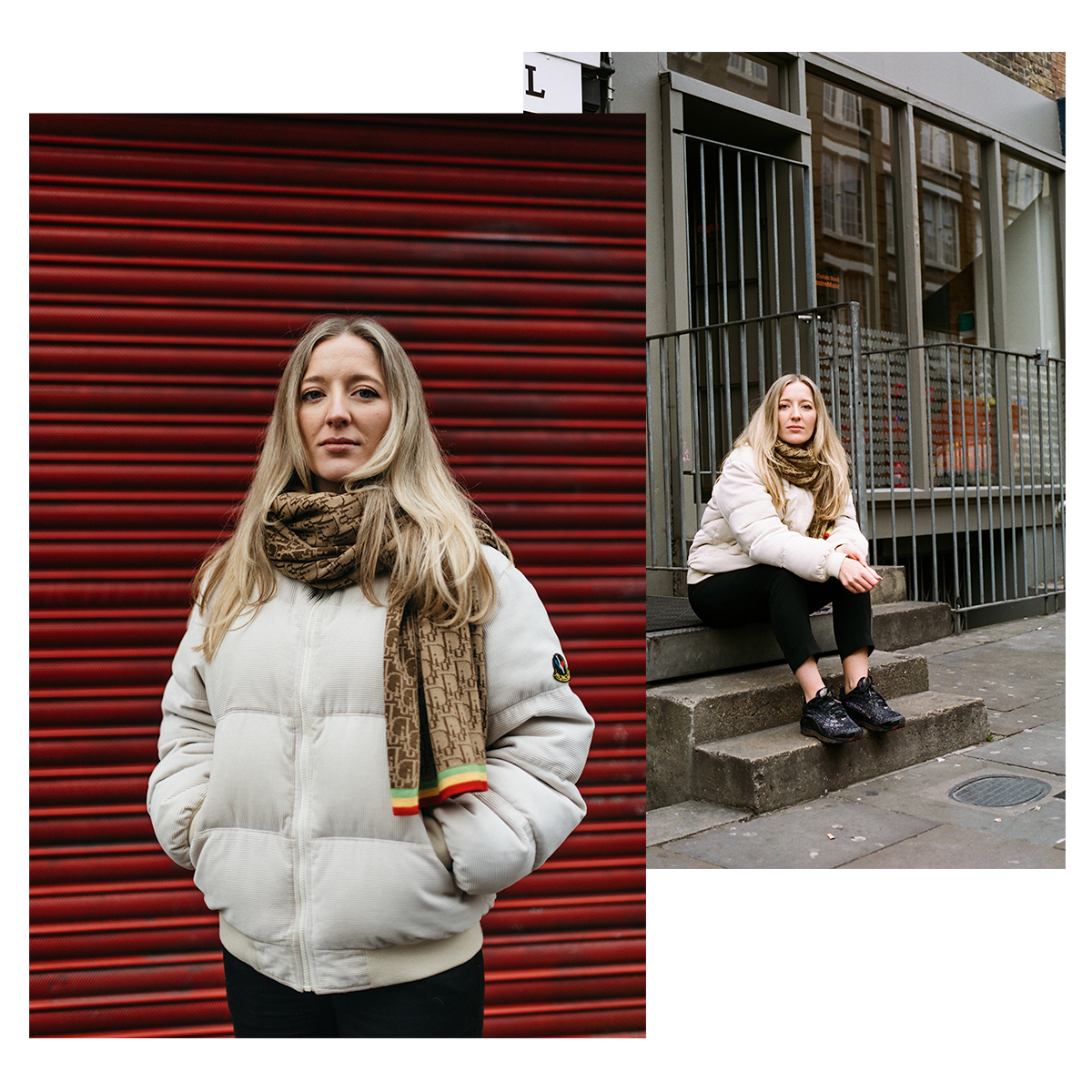 Lauren Sissons   Graphic designer, photographer, and co-creator / founder of Bare Vintage