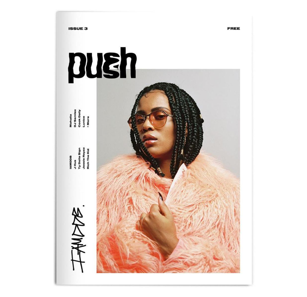 Push Magazine shot by Vicky