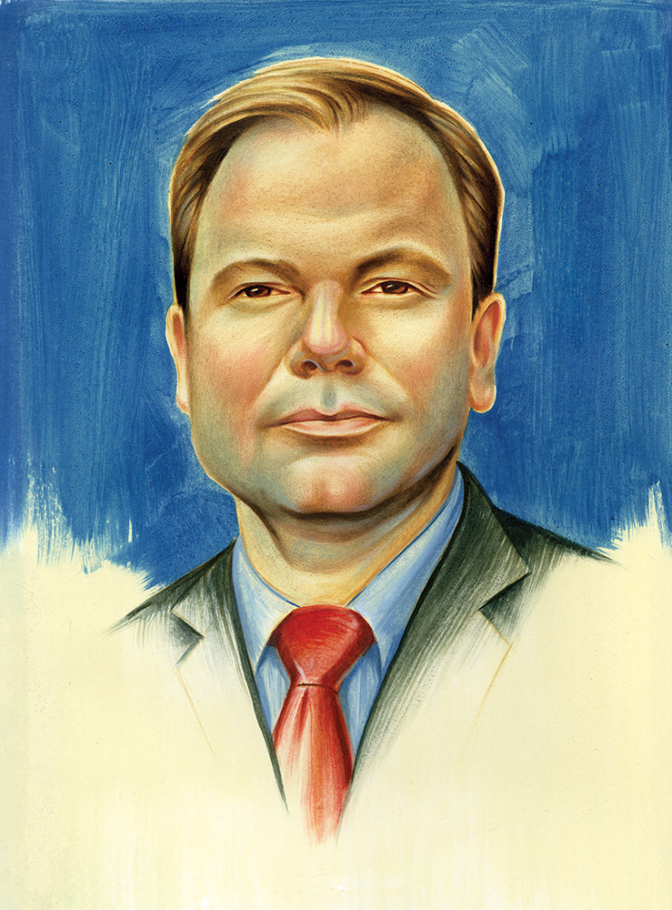 "Craig Oliver/oil on paper/11""x14"""