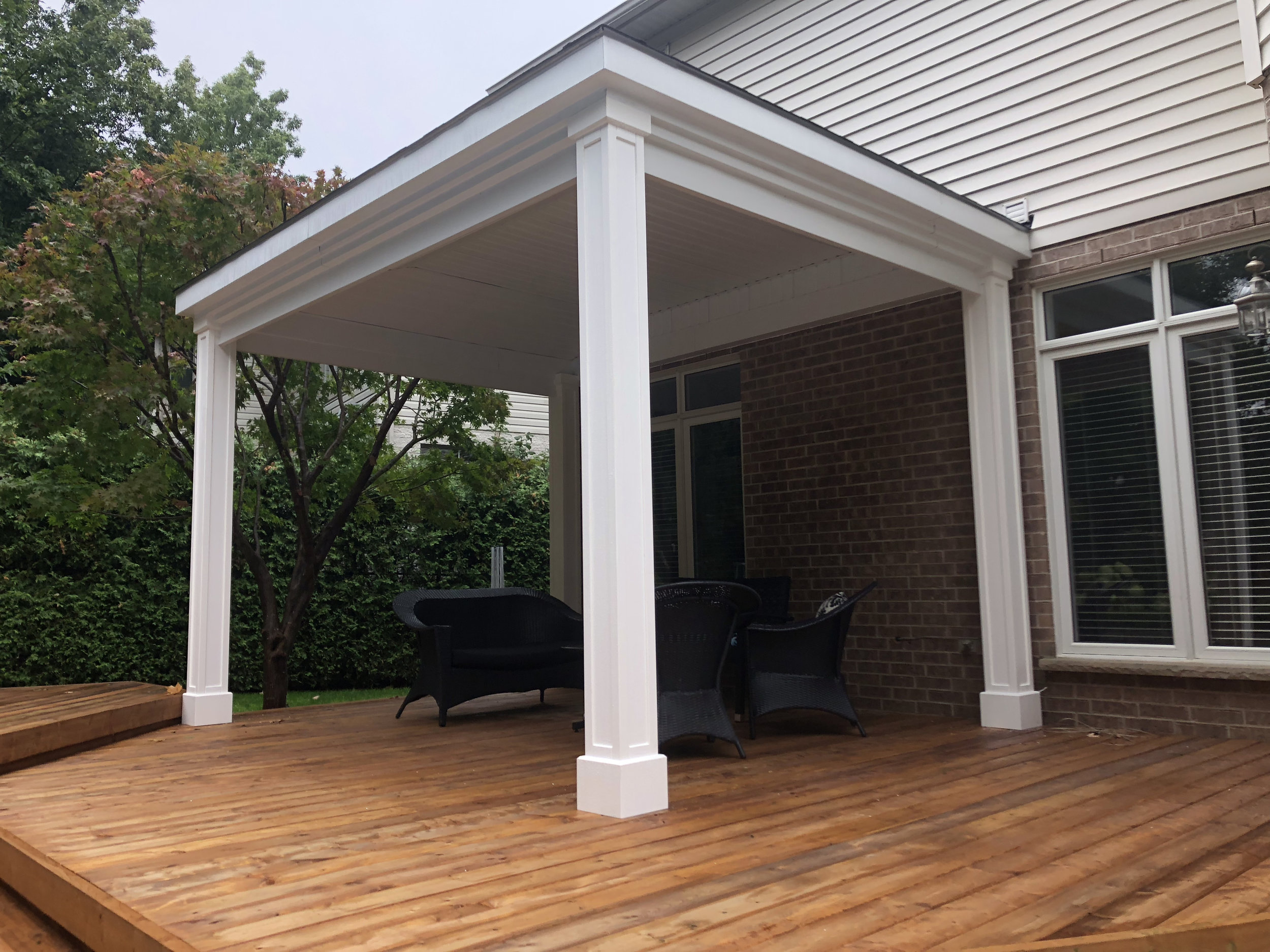 Two Tier Deck And Gazebo True North General Contractors