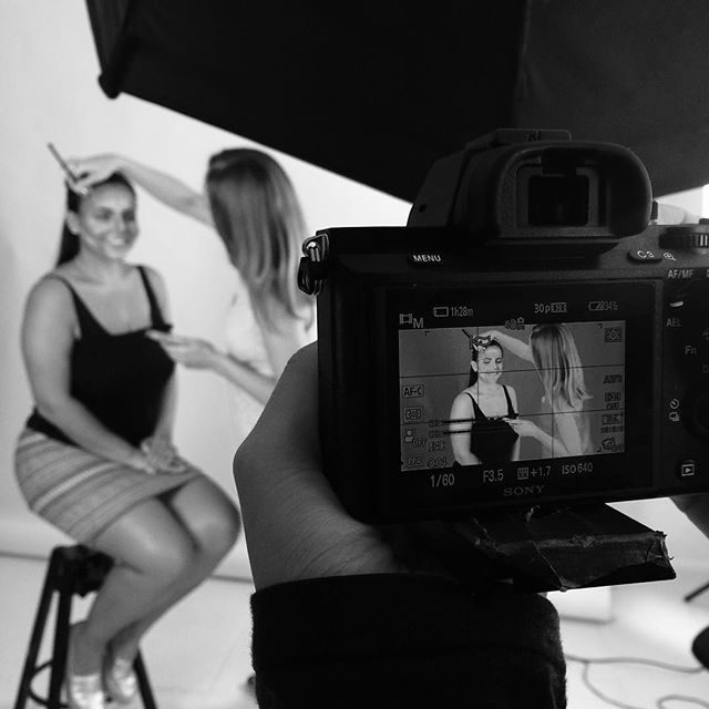 Shooting backstage with @bysoboleva #newyorkfashionweek #nyfw15 #nyfw2015 #filmmaking #filmproduction #sonya7ii #a7ii