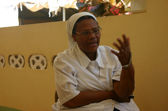 Sr. Luvia has dedicated her life to God and the people of Haiti. Help us support her by giving to the  A Place to Call Home Fund