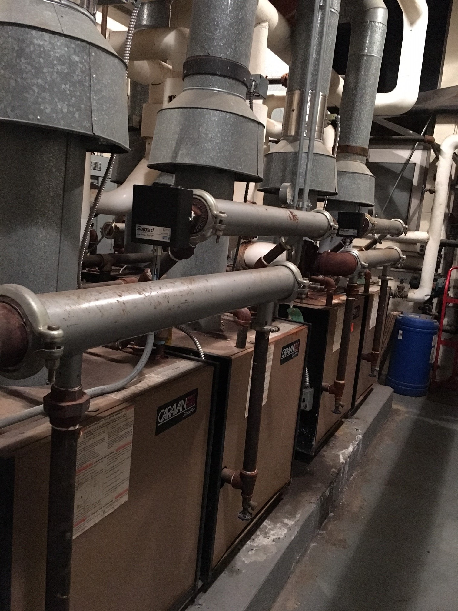 Our current boilers