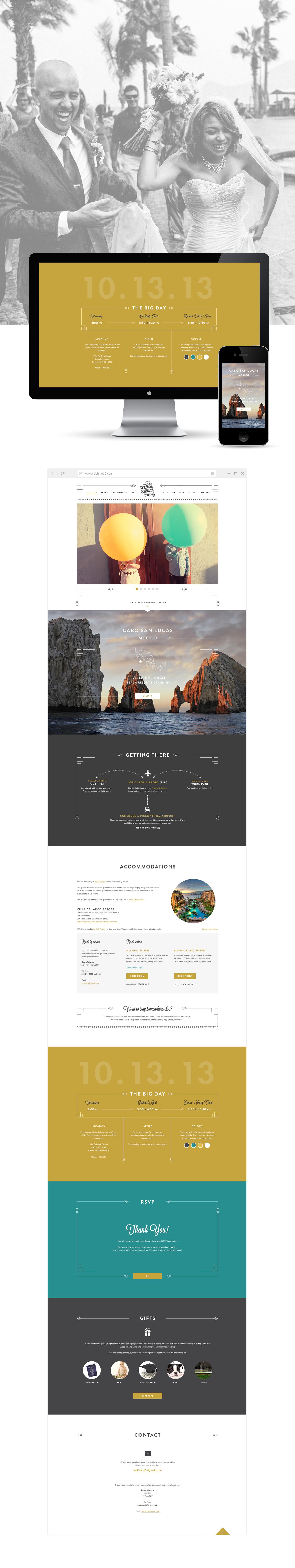 K+M responsive website design by KeithEvans.com