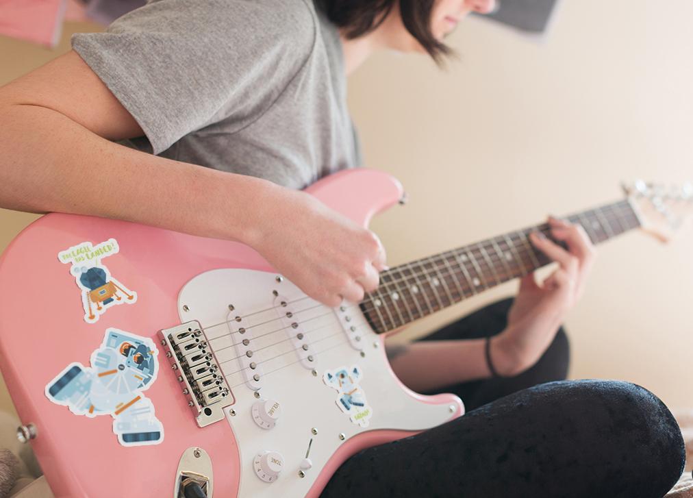 Get your vinyl water-resistant stickers  here!