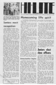 Hi Lite News Oct 14, 1974