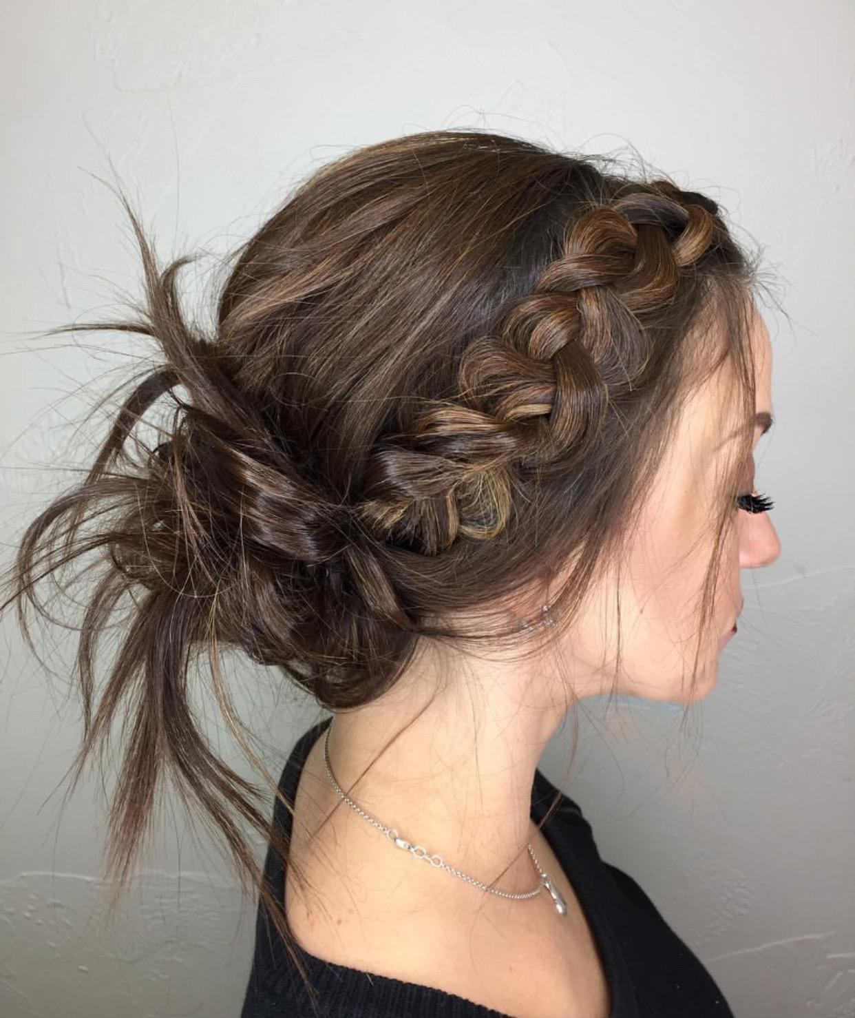 Hair by Alumni Tammy