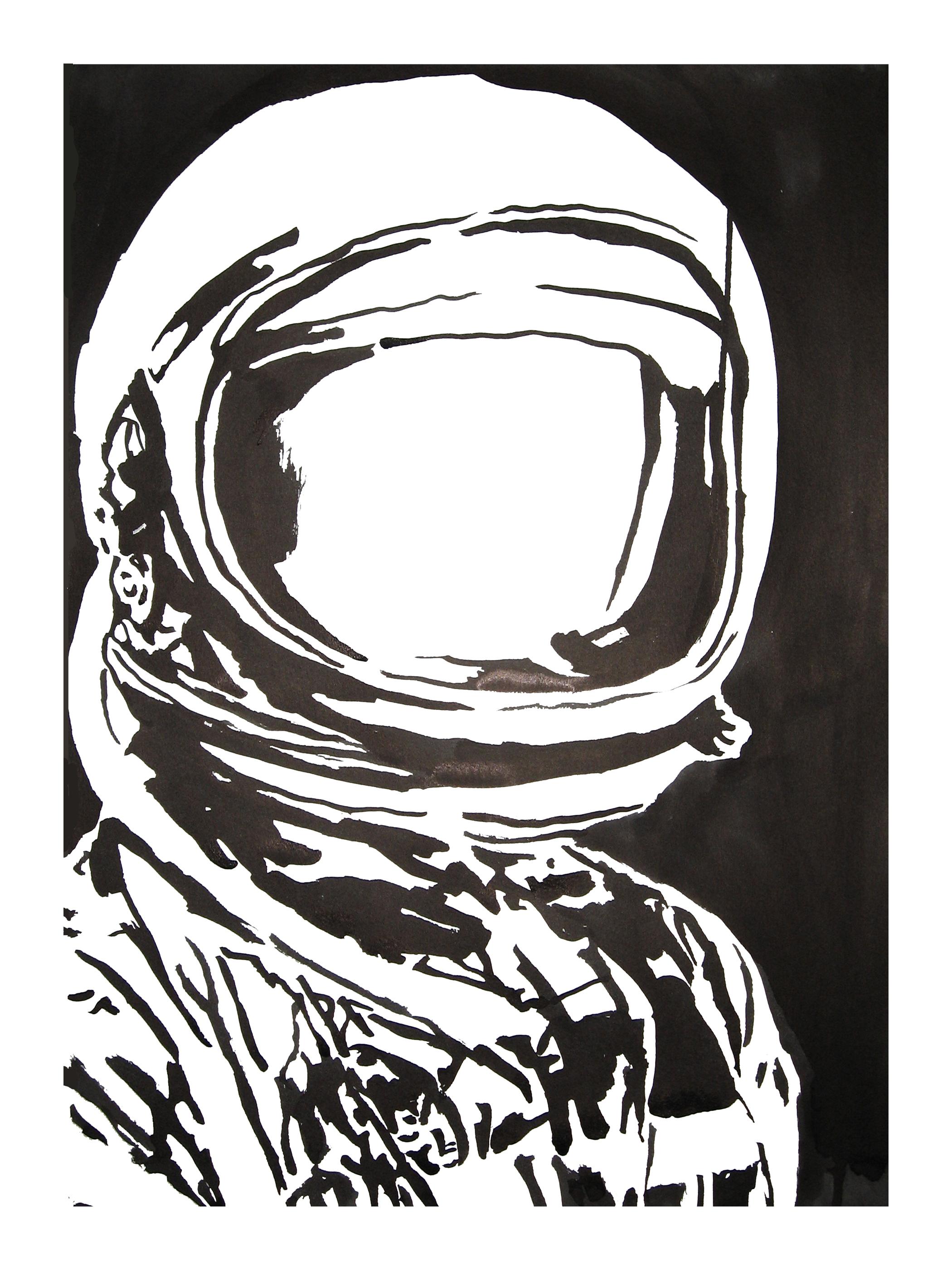 untitled. (spaceman blot 02)