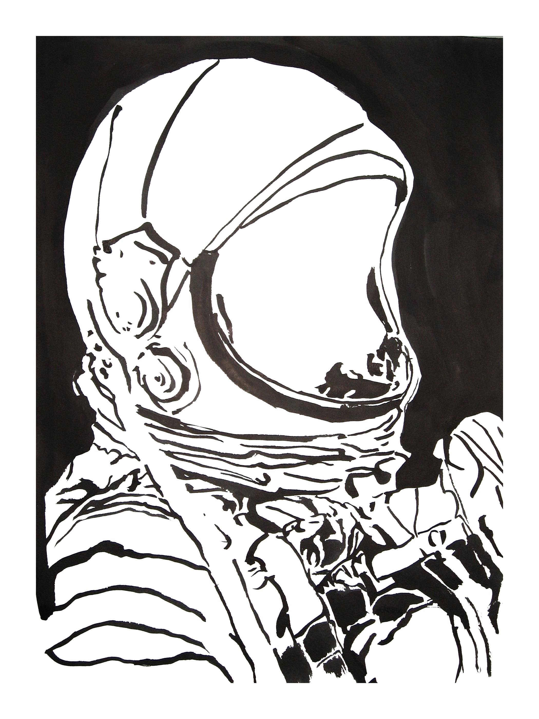 untitled. (spaceman blot 01)