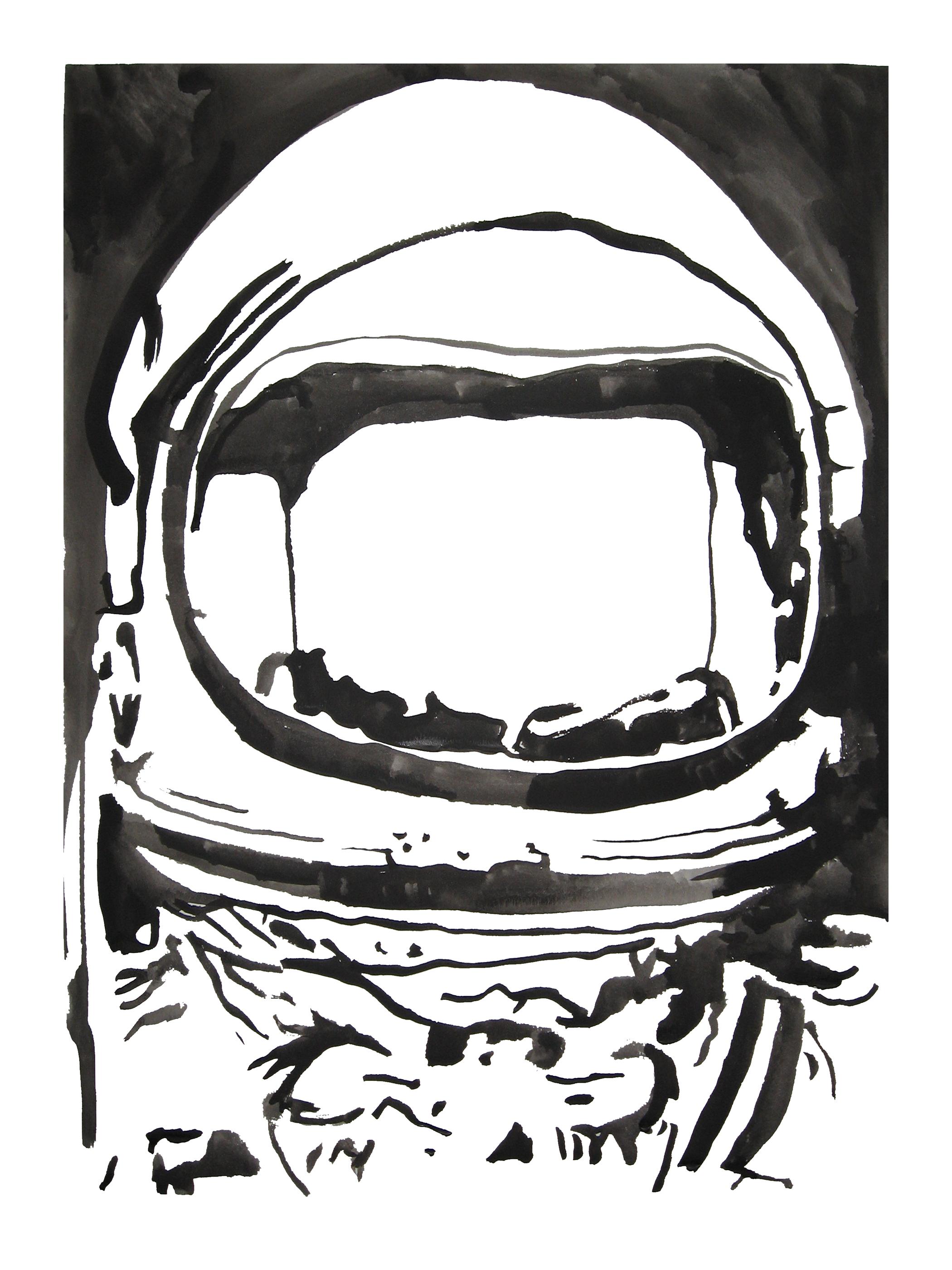 untitled. (spaceman blot 03)