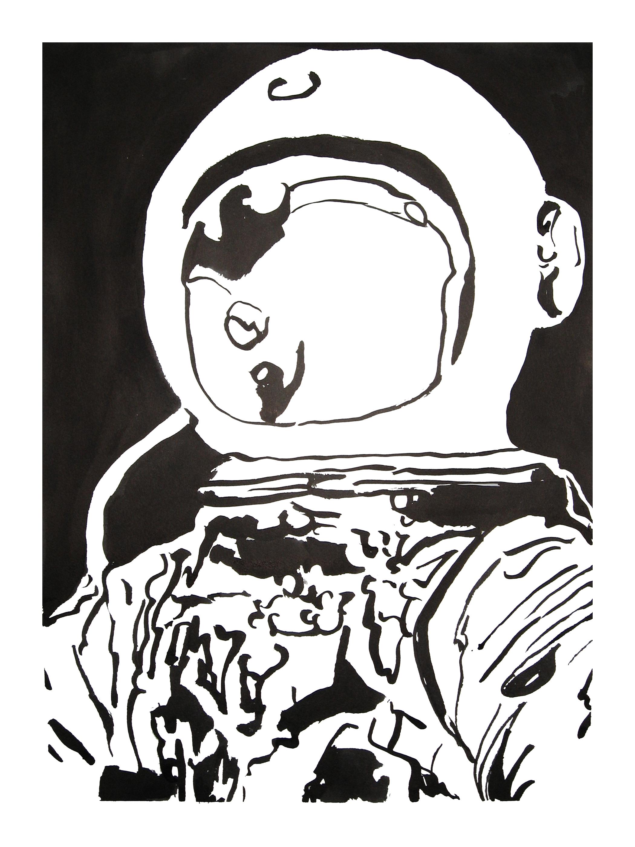 untitled. (spaceman blot 05)