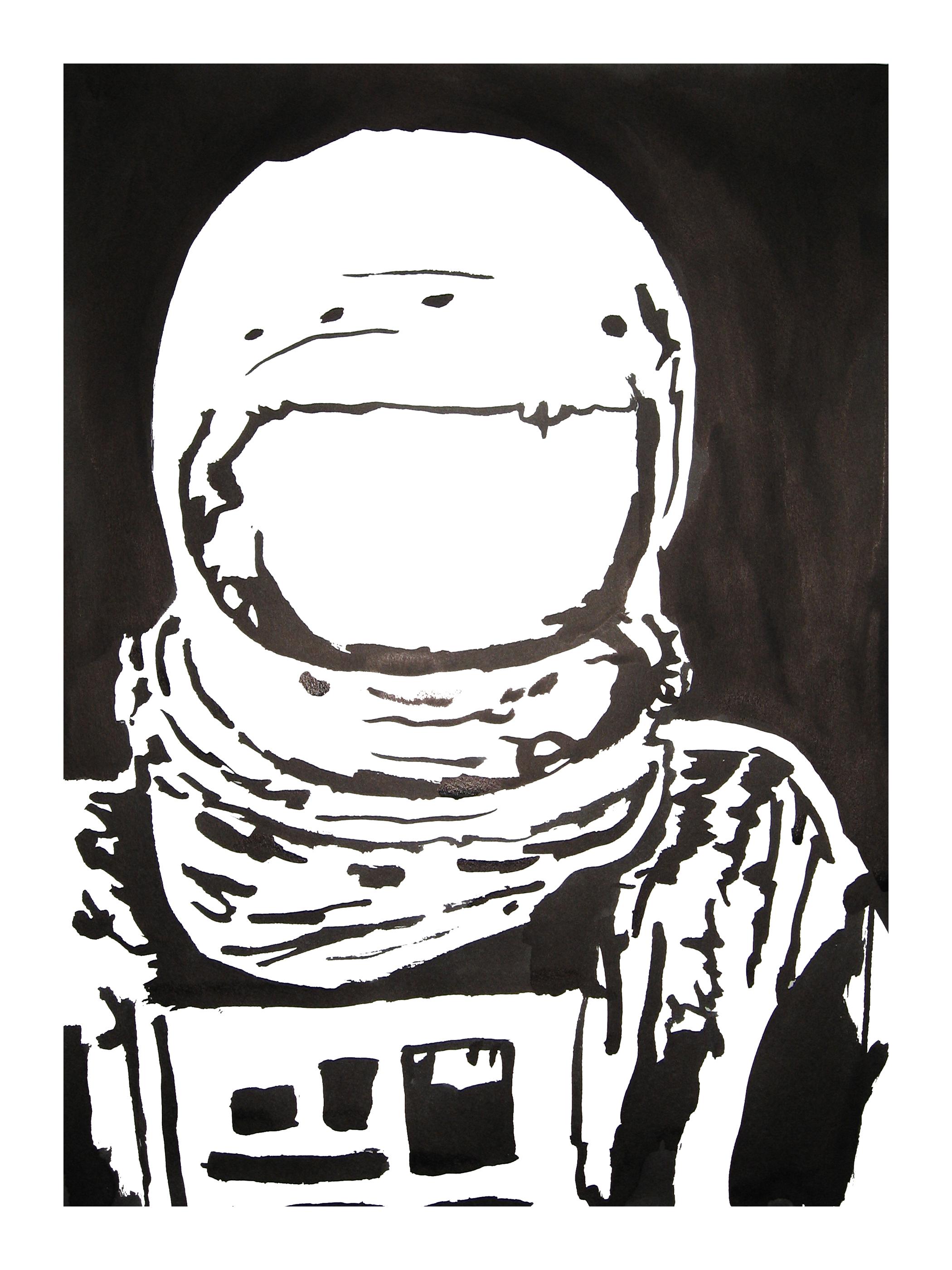 untitled. (spaceman blot 07)