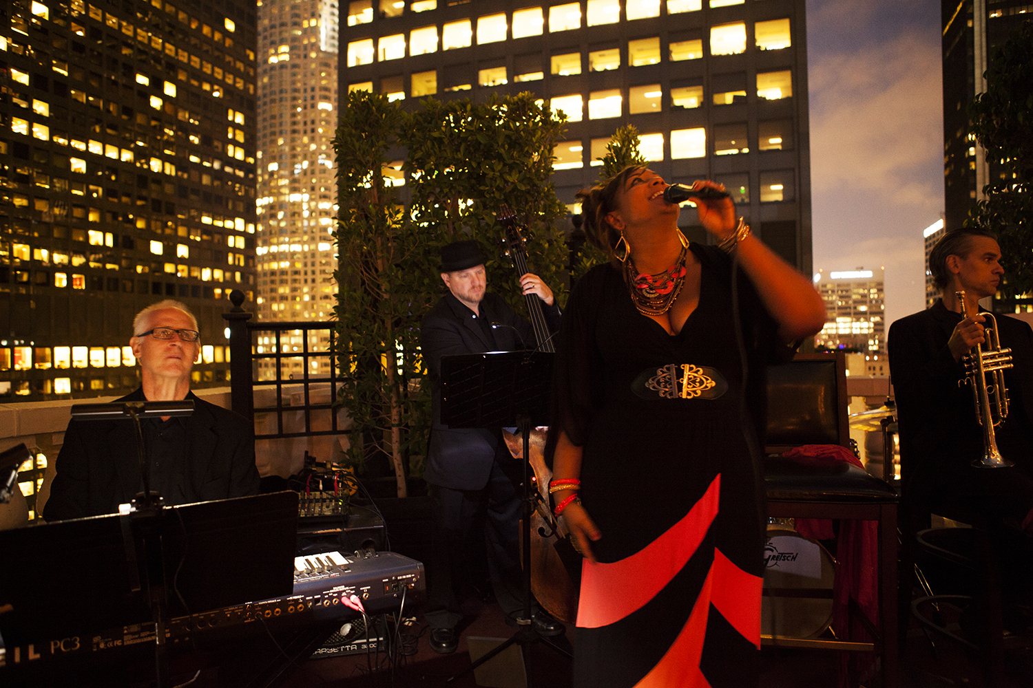 Night Under The Stars at The Jonathan Club, Downtown Los Angeles