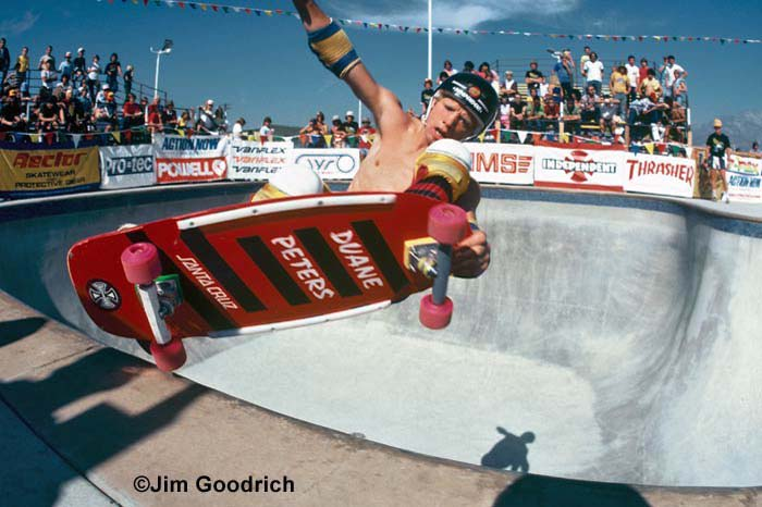 Duane Peters in an extreme edger at Upland skatepark. November 1980.jpg