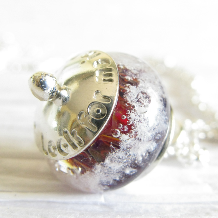 Sentiment ~ Glass cremation bead jewelry sterling silver pendant necklace (4).jpg