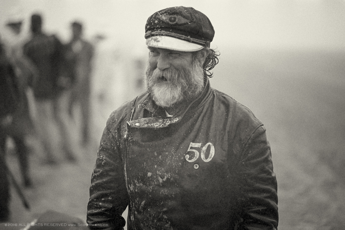 One of original gentlemen and founders of The Race of Gentlemen Mr. Mel Stultz near the end of the day Saturday.