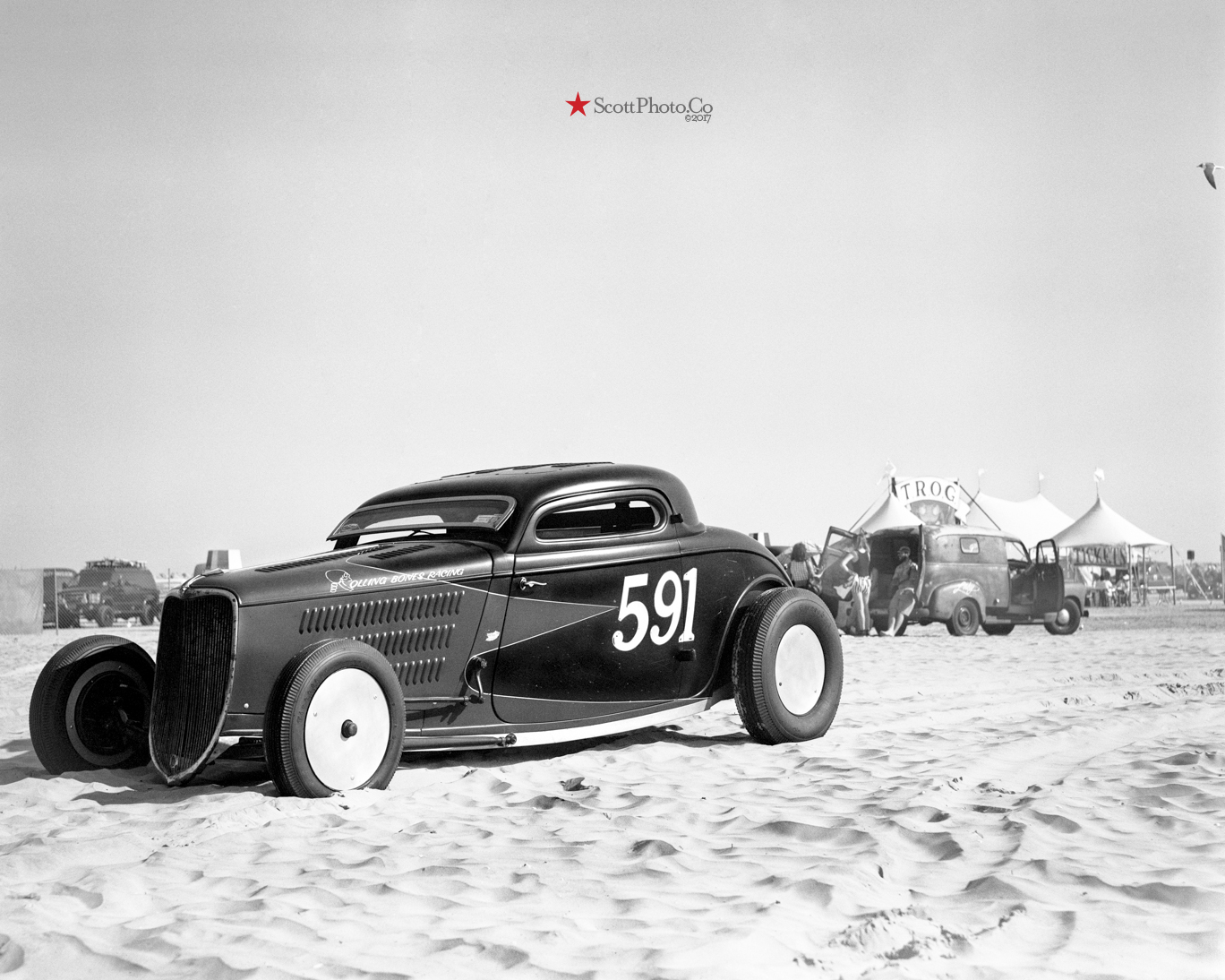 "Ken Schmidt's 1933 Ford coupe ""591"""