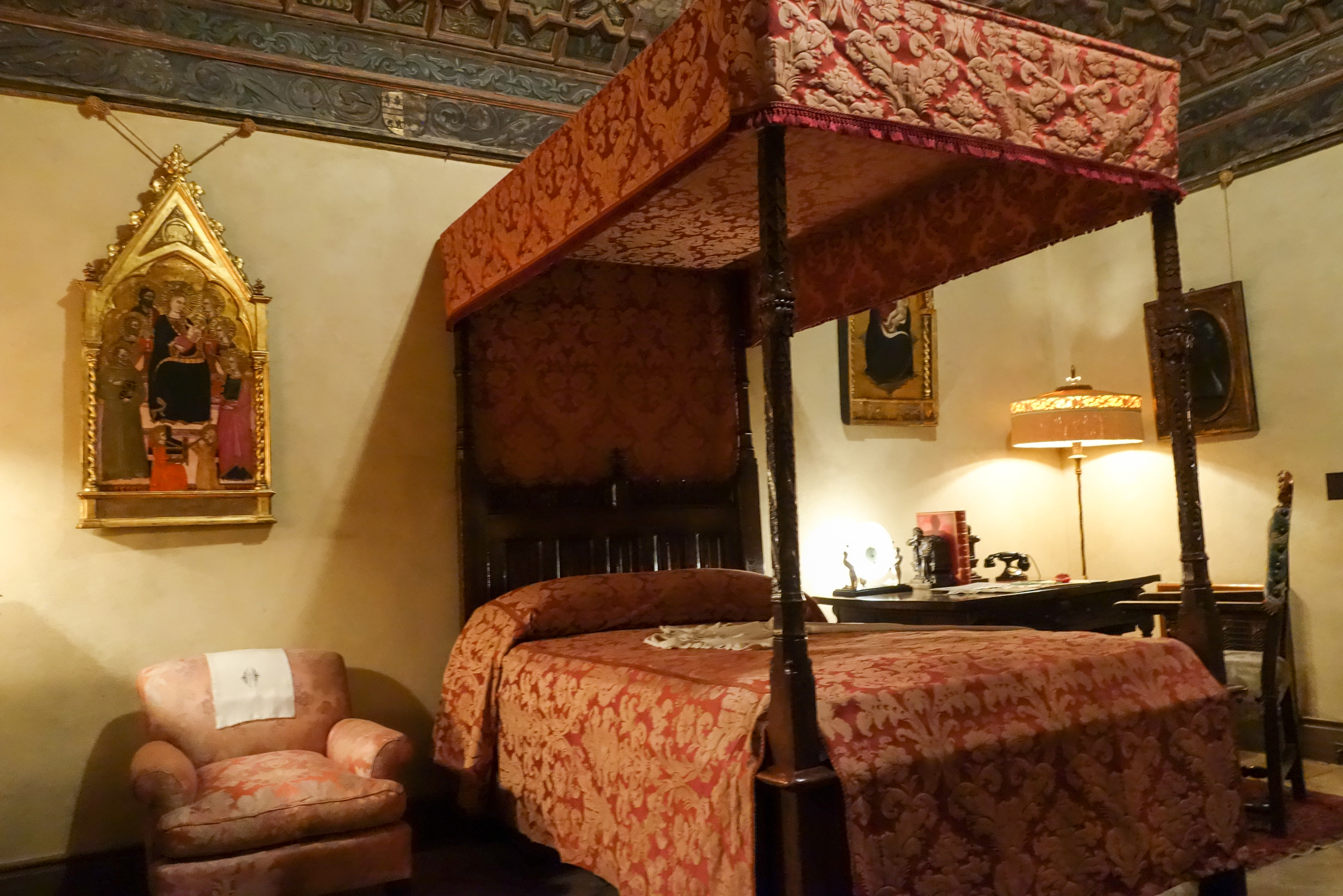 Marion Davies Private Bedroom