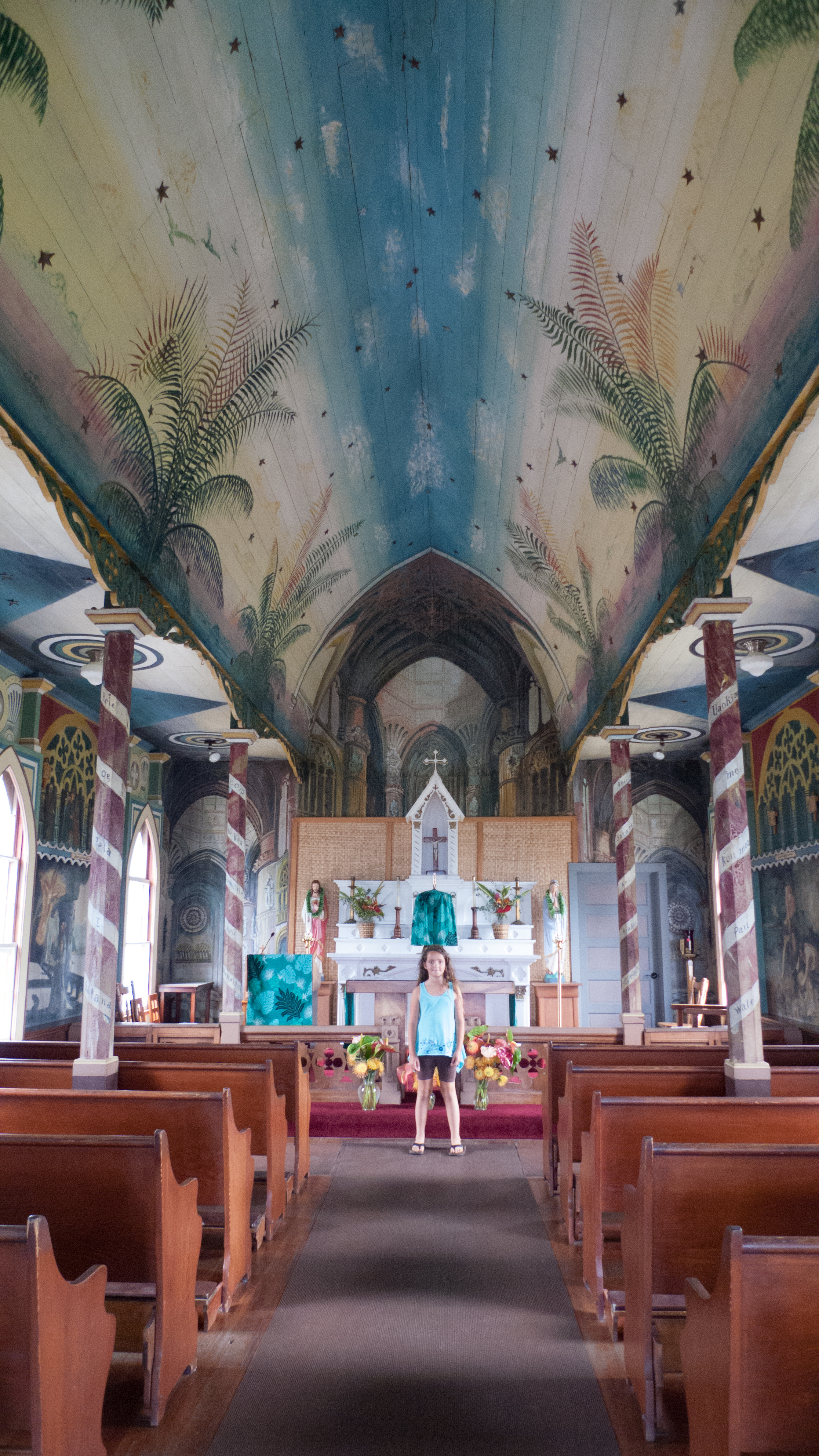 Painted Church in Captain Cook