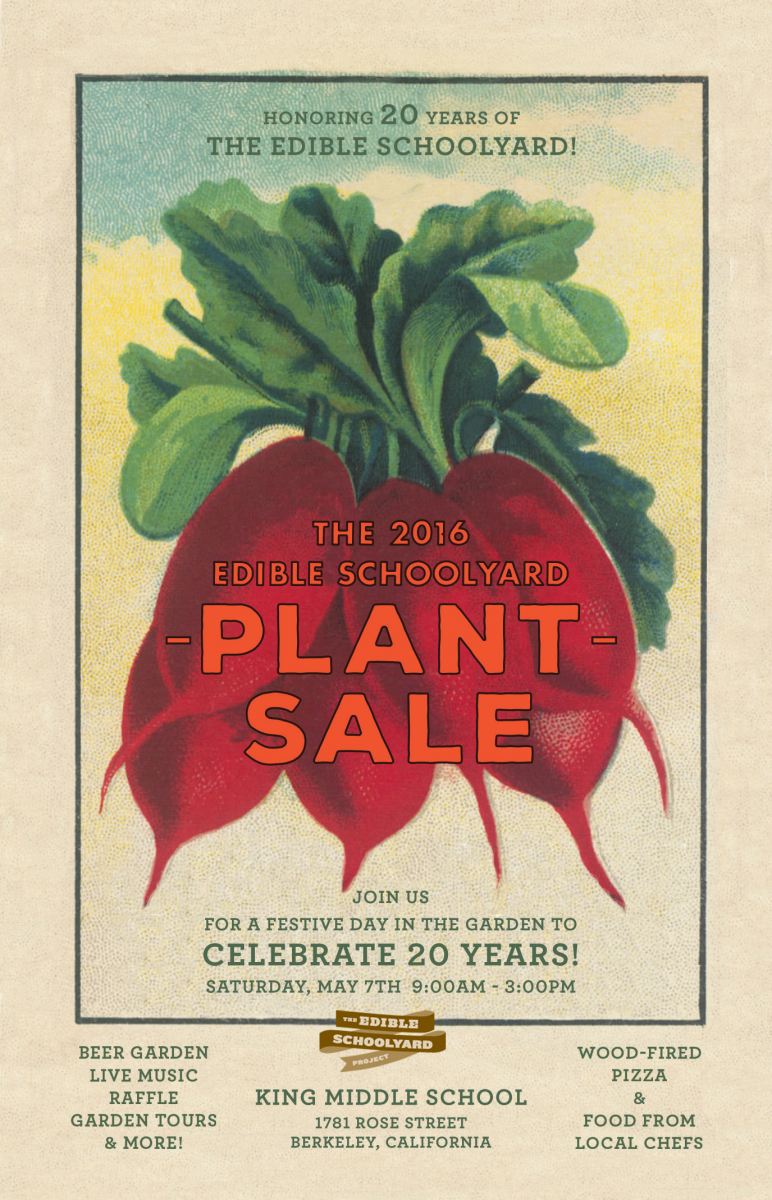 Plant Sale and Celebration at the Edible Schoolyard Berkeley