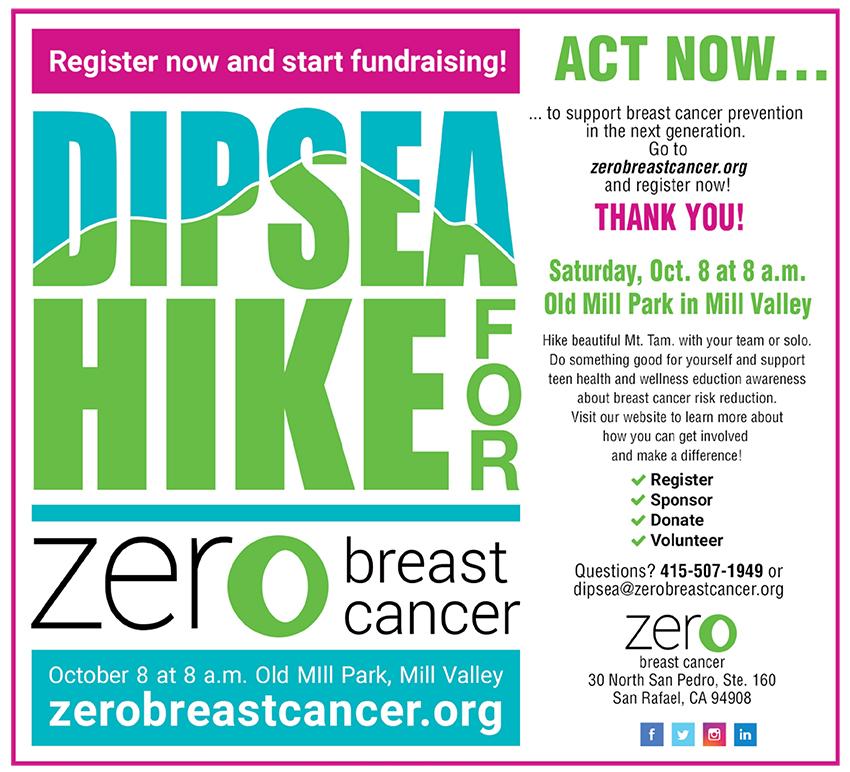 Zero Breast Cancer Dipsea Walk