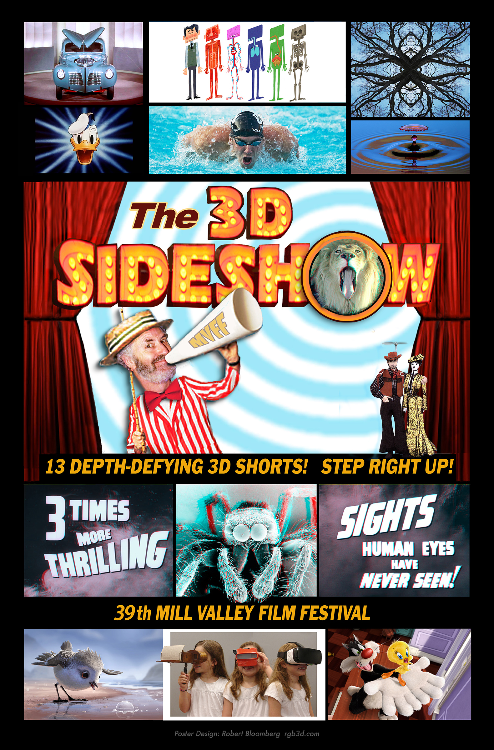The 3D Sideshow