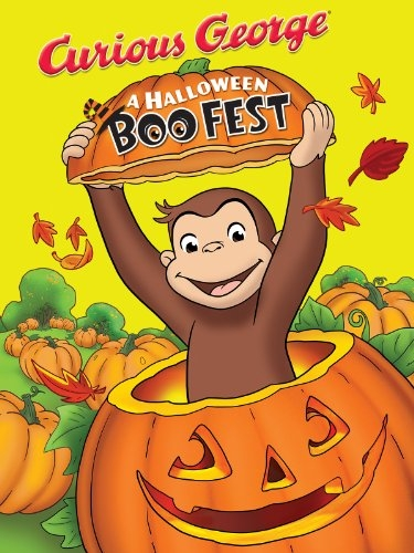 Grinning Movie:   Curious George BooFest  Pre K,A spook-tacular good time with Curious George - in his first-ever Halloween movie.