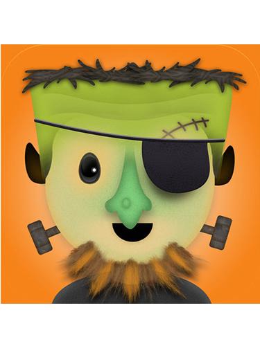 Brain Building Fun App:  Mask Jumble PreK,Fun creativity – if it's a hit – check out the animals version on 11/1 .