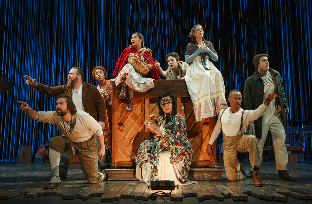 Photo Credit: JOAN MARCUS  The Company of  Into The Woods .
