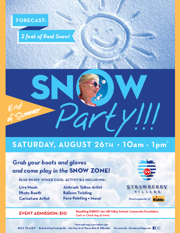 Snow Party for Kiddo!
