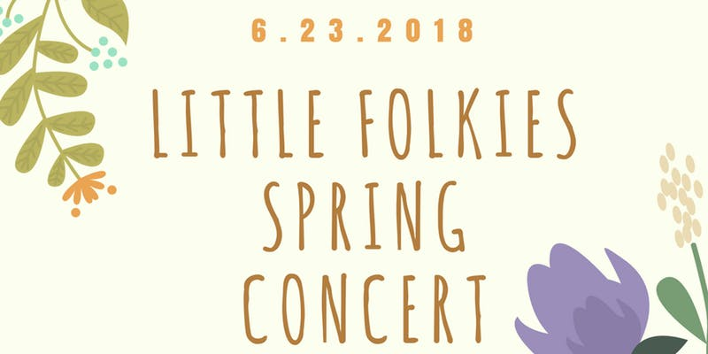 Little Folkies Family Band Spring Concert