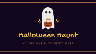Scavenger H(a)unt - This Halloween, the Marin County Mart is reaching a whole new level of Spookiness with a spine-tingling scavenger hunt at 11:30am. It's gonna be spooktacular!
