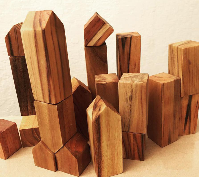 BenjiBLOCKS - BenjiBLOCKS are 100% Upcycled Sustainable Hardwood Blocks made from Teak, and other hardwoods finished super-smooth. Each one is unique and its own little work of art. They encourage creativity, fine motor skills, and spatial recognition. Use Promo Code: RONNIESLIST good until Dec 17.