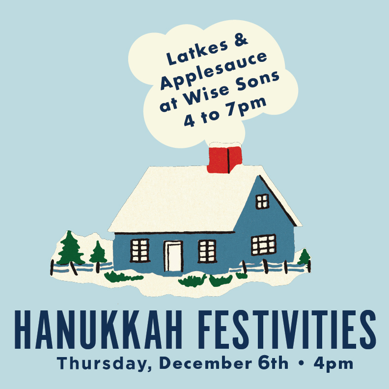 Hannukah Festivities - DECEMBER 6: Hannukah Celebration, 4pm, Latkes with sour cream and applesauce from Wise Sons, menorah making, music from the Ellis Island Band, bookmark making and storytime in Copperfield's along with a Hanukkah Theatre from BimBam featuring fun and educational Hanukkah videos! Also - a glow in the dark play structure & light up dreidels!