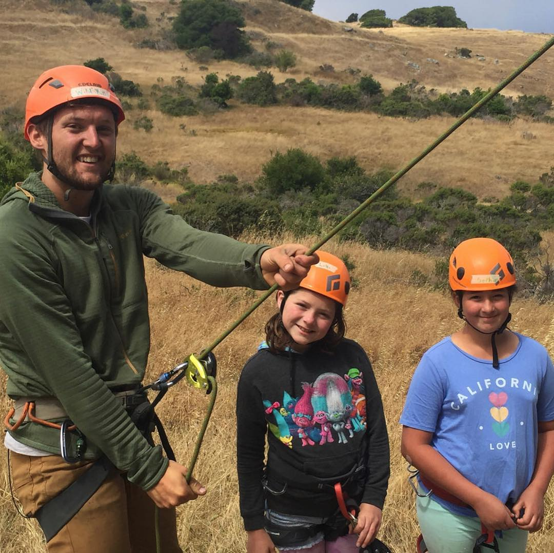 Rock Beyond (grades 3-12) - Our multilevel, state-the-art day and overnight outdoor rock climbing camps, the only camps of their kind in this area, which take the kids to the best climbing destinations in the Bay Area and beyond.