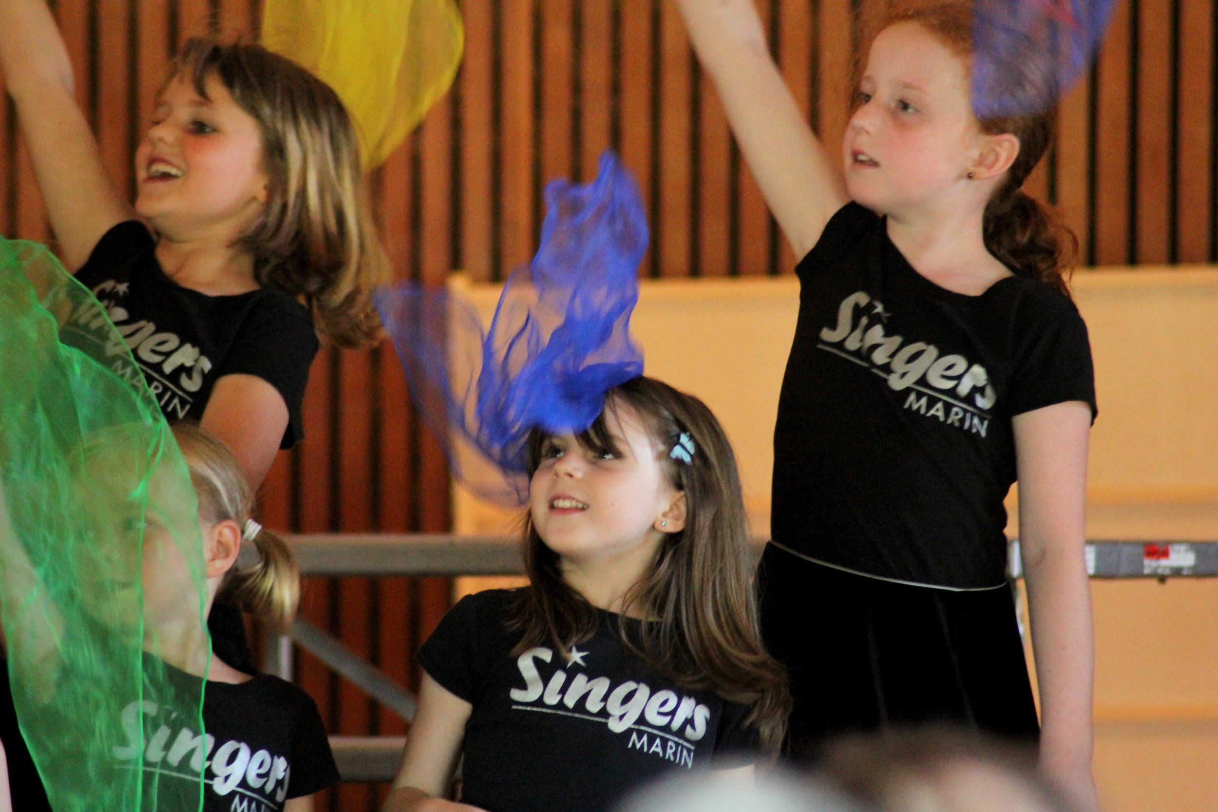 TWINKLING STARLETS (Boys & Girls: Ages 4&5) - The young children are invited to experience singing, creative movement, singing games and more with the help of a rich collection of traditional songs.