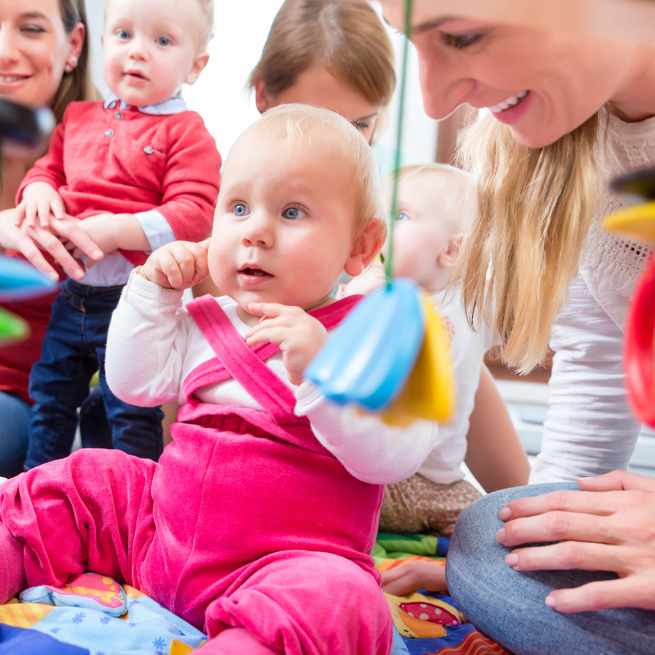 Baby Classes: 3–12 months old - Mondays - Music, movement and play (two times to choose from)Wednesdays - Story time with music and play (two times to choose from)