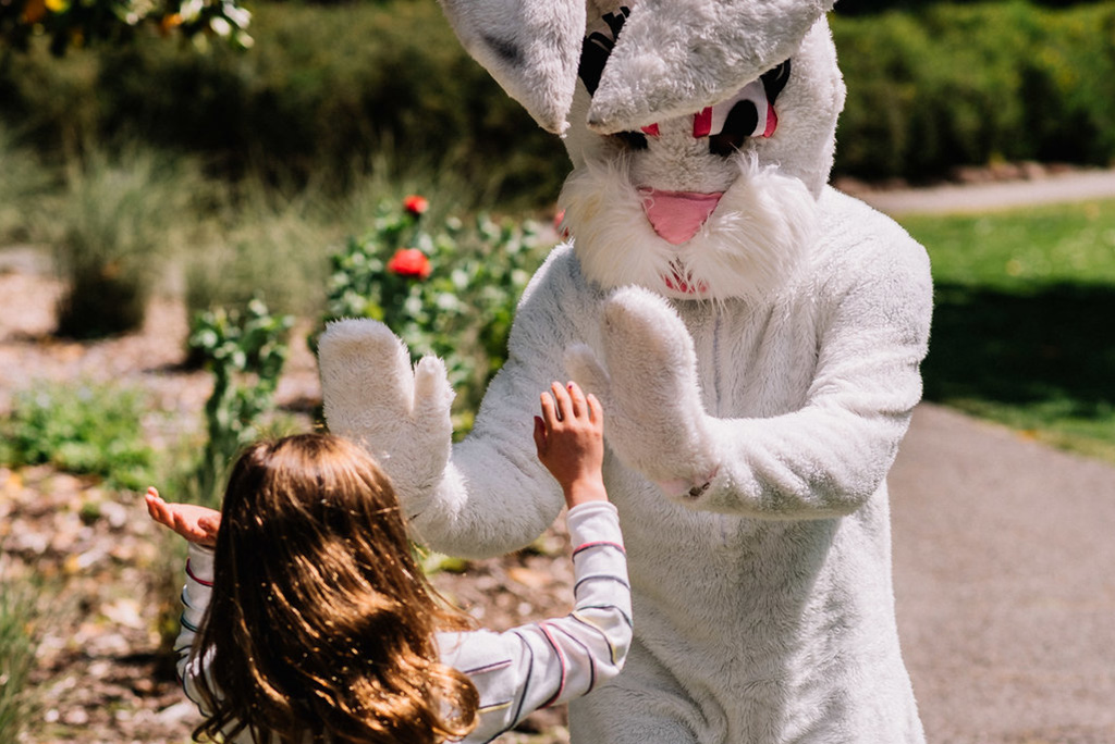 Easter Bunny - There may just be a new friend to hi-five!
