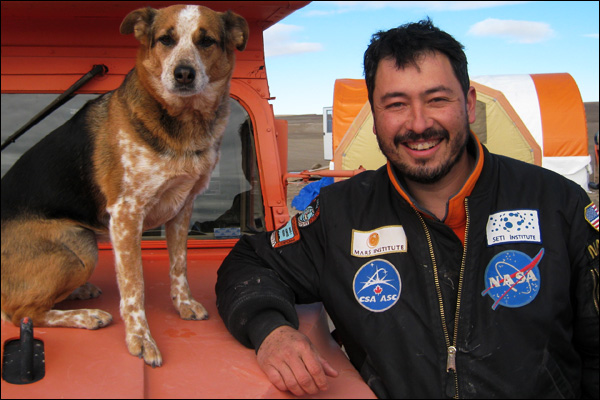 Dr. Pascal Lee, Planetary Scientist, Mars & SETI Institutes