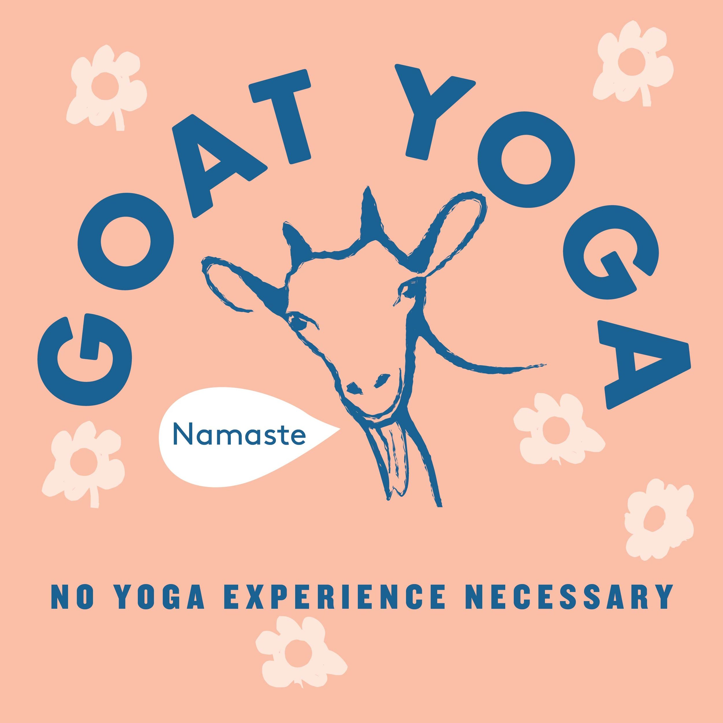 Goat Yoga - June 21, 11:00am, 11:35am, 12:10pm & 12:45pmMeet us at the Mart for Goat Yoga!! Appropriate for all levels, no yoga experience necessary. The yoga class is designed in a way to help participants connect with the goats, and also socialize the little goats so they can go out into the community and help our environment through City Grazing's grazing programs.